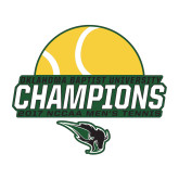 Medium Decal-NCCAA Mens Tennis Champions 2017 - Half Ball