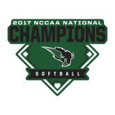 Medium Decal-2017 NCCAA National Softball Champions
