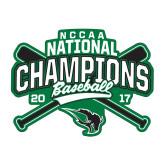 Medium Decal-2017 NCCAA National Champions - Baseball Crossed Bats