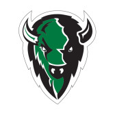 Large Decal-Charging Bison, 12 inches tall