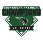 Large Decal-2017 NCCAA National Softball Champions