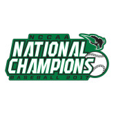 Large Decal-2017 NCCAA National Baseball Champions