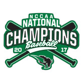 Large Decal-2017 NCCAA National Champions - Baseball Crossed Bats