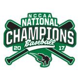 Large Decal-2017 NCCAA National Champions - Baseball Crossed Bats