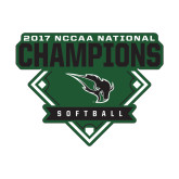 Small Decal-2017 NCCAA National Softball Champions