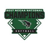Small Decal-2017 NCCAA National Softball Champions