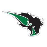 Extra Large Decal-Power Bison, 18 inches wide