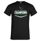 Black T Shirt-2017 NCCAA National Softball Champions