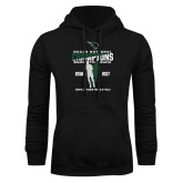 Black Fleece Hoodie-NCCAA National Champions Mens Outdoor Track and Field back to back