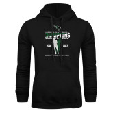 Black Fleece Hoodie-NCCAA National Champions Womens Outdoor Track and Field back to back