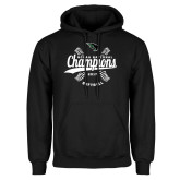 Black Fleece Hoodie-2017 NCCAA National Softball Champions