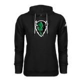 Adidas Climawarm Black Team Issue Hoodie-Charging Bison