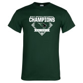 Dark Green T Shirt-2017 NCCAA National Softball Champions