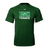 Under Armour Dark Green Tech Tee-Tennis