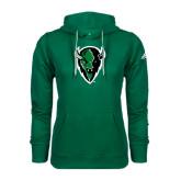 Adidas Climawarm Dark Green Team Issue Hoodie-Charging Bison