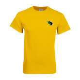 Gold T Shirt-Power Bison