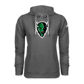 Adidas Climawarm Charcoal Team Issue Hoodie-Charging Bison