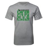 Grey T Shirt-Cheer Stacked