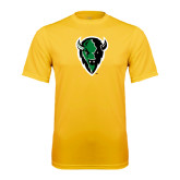 Syntrel Performance Gold Tee-Charging Bison