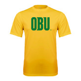 Syntrel Performance Gold Tee-OBU Wordmark