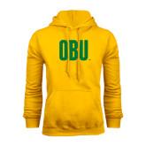 Gold Fleece Hoodie-OBU Wordmark