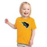 Toddler Gold T Shirt-Power Bison