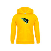 Youth Gold Fleece Hoodie-Power Bison