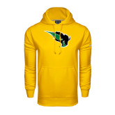 Under Armour Gold Performance Sweats Team Hoodie-Power Bison