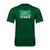 Performance Dark Green Tee-Tennis