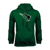 Dark Green Fleece Hood-Power Bison