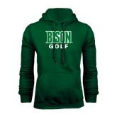 Dark Green Fleece Hood-Golf