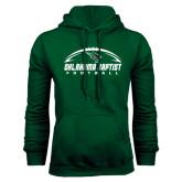 Dark Green Fleece Hood-Oklahoma Football Horizontal