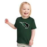 Toddler Dark Green T Shirt-Power Bison