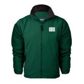 Dark Green Survivor Jacket-OBU Wordmark