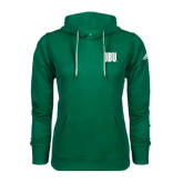 Adidas Climawarm Dark Green Team Issue Hoodie-OBU Wordmark