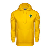 Under Armour Gold Performance Sweats Team Hoodie-Charging Bison