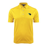 Gold Dry Mesh Polo-Power Bison