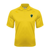 Gold Dri Mesh Pro Polo-Charging Bison
