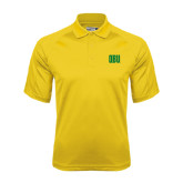 Gold Dri Mesh Pro Polo-OBU Wordmark