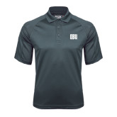 Charcoal Dri Mesh Pro Polo-OBU Wordmark