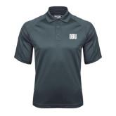 Charcoal Dri Mesh Pro Polo-OBU Wordmark