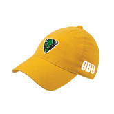 Gold OttoFlex Unstructured Low Profile Hat-Charging Bison