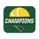 Small Magnet-NCCAA Mens Tennis Champions 2017 - Half Ball