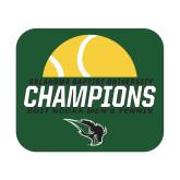 Small Magnet-NCCAA Mens Tennis Champions 2017 - Half Ball