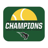Medium Magnet-NCCAA Mens Tennis Champions 2017 - Half Ball