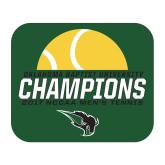 Medium Magnet-NCCAA Mens Tennis Champions 2017 - Half Ball