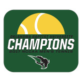 Large Magnet-NCCAA Mens Tennis Champions 2017 - Half Ball