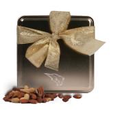 Deluxe Nut Medley Gold Medium Tin-Power Bison Engraved