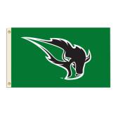 3 ft x 5 ft Flag-Power Bison