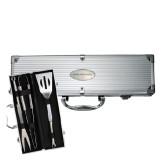 Grill Master 3pc BBQ Set-Oklahoma Baptist University Flat Engraved